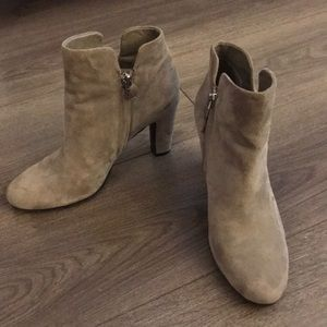 Sam Edelman Shoes - Sam Edelman Gray Suede Booties